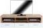 Tv Díl Malta - bílá/barvy dubu, Moderní, dřevo (185/50/42cm)