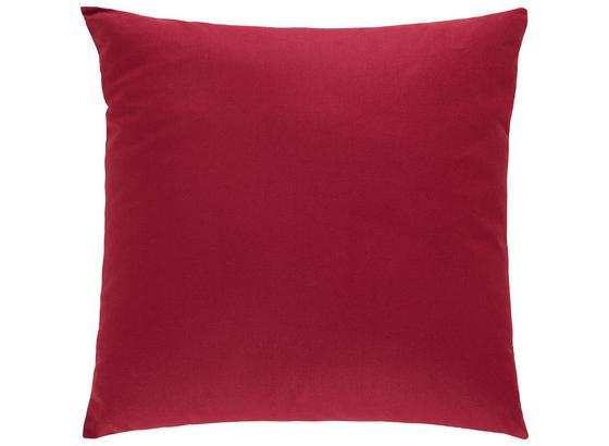Dekoračný Vankúš Cenový Trhák - bordová, textil (50/50cm) - Based