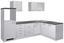 Eckküche Lucca 280x170cm Weiß - Weiß, MODERN, Holzwerkstoff (280/170cm)