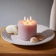 Dekoračný Tanier Andro - ružová, kompozitné drevo (39,5/3,8cm) - Mömax modern living