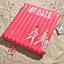 Nafukovací Matrace Hashtag - pink, umělá hmota (190/180cm)