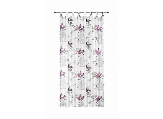 Závěs Hotový Romana - pink, Romantický / Rustikální, textil (140/245cm) - Mömax modern living