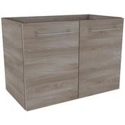 Waschtischunterschrank Lima B:60cm Esche Dekor - Eschefarben, MODERN, Holzwerkstoff (60/42/35cm) - Fackelmann