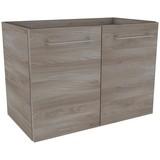 Waschtischunterschrank mit Türdämpfer Lima B: 59cm, Esche - Eschefarben, MODERN, Holzwerkstoff (59/42/33cm) - Fackelmann
