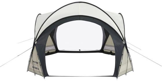 Whirlpool Poolzelt Lay-Z-Spa Dome - Weiß/Grau, MODERN, Kunststoff (366cm) - Bestway
