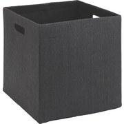 Skladací Box Bobby - antracitová, Moderný, plast/papier (33/32/33cm) - Mömax modern living