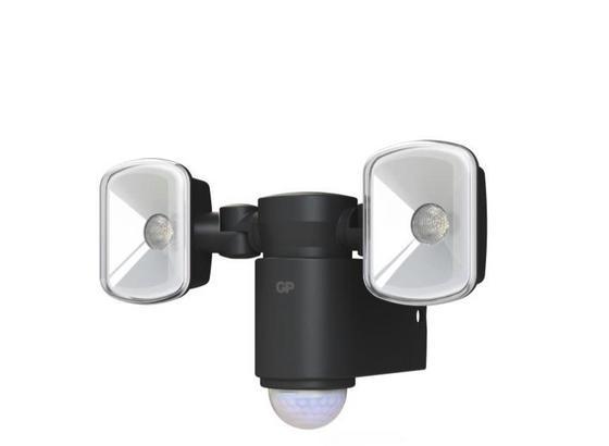 Led Lampa Interiér A Exteriér Gp Svietidlo - čierna, Moderný, plast (12,86/18,48/11,35cm)