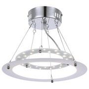LED-hängeleuchte Linda - Weiß, KONVENTIONELL, Kunststoff/Metall (28,5/22cm)