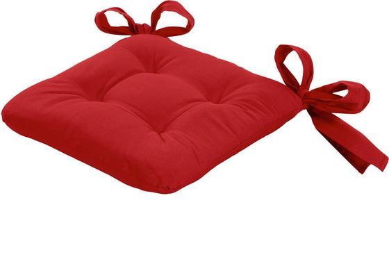 Székpárna Henri 272038 - Piros, konvencionális, Textil (40/40/6cm) - Ombra