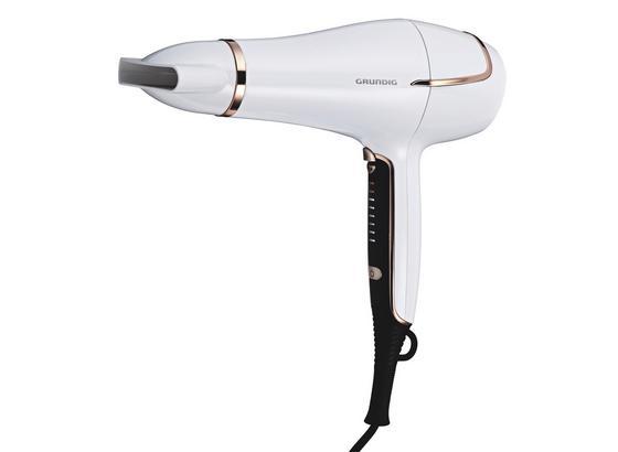 Haartrockner Ionic-touch - Weiß, Basics, Kunststoff (9/21/29cm) - Grundig