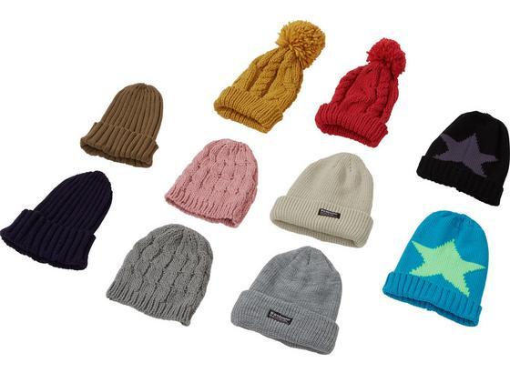 Mütze Alena - Multicolor, KONVENTIONELL, Textil (17/22cm)