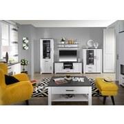 Spiegel Provence - Weiß, ROMANTIK / LANDHAUS, Glas/Holzwerkstoff (138,1cm) - James Wood