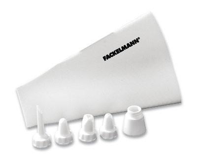 Spritzbeutel Profi - Weiß, KONVENTIONELL, Kunststoff/Weitere Naturmaterialien (31cm) - Fackelmann