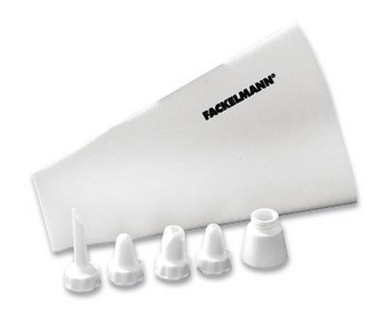 Spritzbeutel Profi - Weiß, KONVENTIONELL, Kunststoff/Weitere Naturmaterialien (31cm) - Homeware