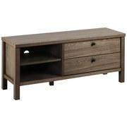 TV-Lowboard Brentwood B: 120 cm Dunkelbraun - Dunkelbraun, KONVENTIONELL, Holz/Metall (120/50/37cm) - Carryhome