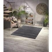 Hochflorteppich Super Soft 60x100 - Dunkelgrau, MODERN, Textil (60/110cm)