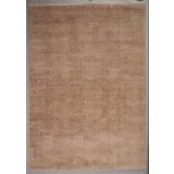 Hochflorteppich Nobel Micro  80/200 - Hellbraun, MODERN, Textil (80/200cm)