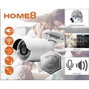 Überwachungskamera Außen Wlan mit Mikrofon - Weiß, Design, Kunststoff (16/7,5/7,5cm) - Trisa Electronics