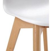 Dětská Židle Tibby - bílá, Moderní, dřevo/umělá hmota (30/56,5/32,5cm) - Modern Living