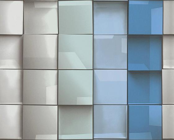 Tapeta Vliesová 96020-1 - modrá, Konvenční, papír (53/100.5cm)