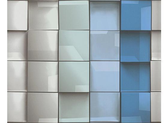 Tapeta Vliesová 96020-1 - modrá, Konvenčný, papier (53/100.5cm)