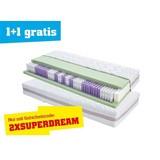 Taschenfederkernmatratze Superior Dream H3 90x200 - Weiß, KONVENTIONELL, Textil (200/90/22cm) - Primatex Deluxe