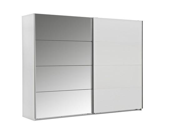 Skříň S Posuvnými Dveřmi Ernie - bílá, dřevo/kompozitní dřevo (225/210/64cm)