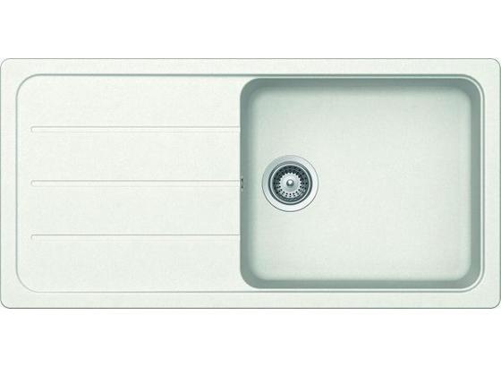 Dřez Formhaus D-100l (schock) - bílá, Moderní, kámen (98/48/19cm) - Schock