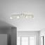 Bodové Svetlo Bahar - biela/strieborná, Romantický / Vidiecky, kov/plast (43cm) - Modern Living