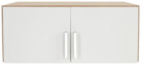 Szekrényrátét Wien 2 Ajtós Szekrényhez - tölgy színű/fehér, konvencionális, faanyagok (91/39/54cm)