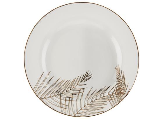 Talíř Dezertní Oro - bílá/barvy zlata, Lifestyle, keramika (19,10cm) - Mömax modern living
