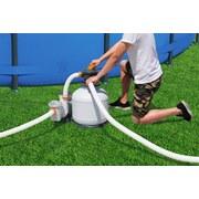 Sandfilterpumpe Flowclear 3000gal 11.355 L/H 58486 - Orange/Weiß, MODERN, Kunststoff/Metall (62/48,5/67cm) - Bestway