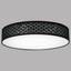 LED-Deckenleuchte Carla72,22 - Goldfarben/Schwarz, MODERN, Kunststoff/Textil (60/12cm)