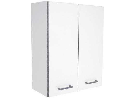Hängeschrank Verona - Weiß, KONVENTIONELL, Holzwerkstoff (65/70/20cm)
