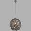 Hängeleuchte Kaunos,ø 34 cm - Grau, MODERN, Kunststoff/Metall (34/97cm)