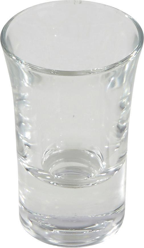 Snapsz Pohár 3db/szett - áttetsző, konvencionális, üveg (0,034l)