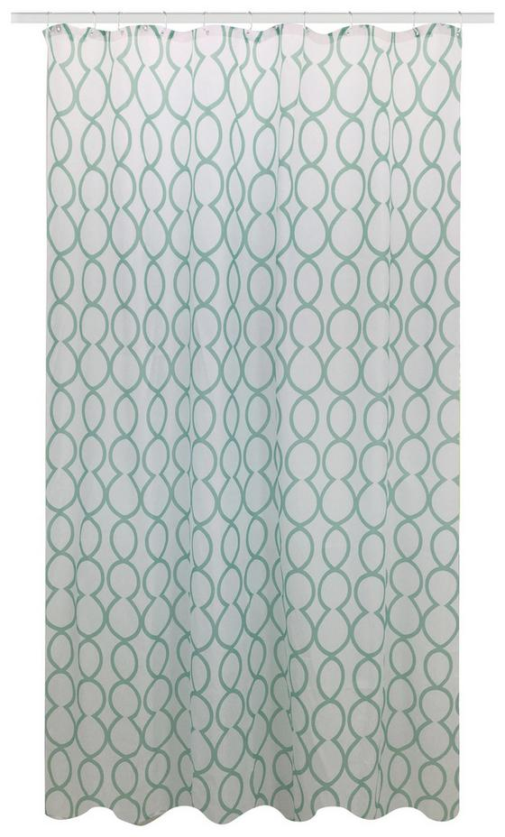Duschvorhang Svenja - Jadegrün, MODERN, Textil (180/200cm) - Luca Bessoni