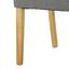 Židle Fanney - šedá/barvy buku, Moderní, dřevo/textil (47,5/98/63cm) - Mömax modern living