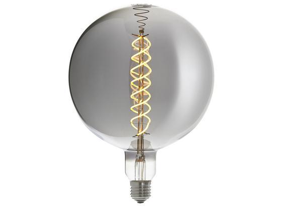 Led Dekorační Žárovka Suva3, E27, 6 Watt - kov/sklo (18/23cm) - Modern Living