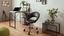 Otočná Židle Phillipp - černá/barvy chromu, Moderní, kov/dřevo (61/79-90,5/53cm) - Mömax modern living