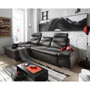 Wohnlandschaft Dijon ca. 170x268 cm - Silberfarben/Grau, KONVENTIONELL, Holzwerkstoff/Textil (170/268cm) - Carryhome
