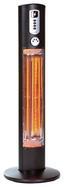 Heizstrahler Warmwatcher Helios - Grau, MODERN, Metall (50/152cm)