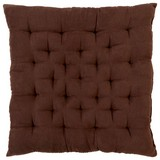 Ülőpárna Agatha - Barna, konvencionális, Textil (40/40/6cm) - Ombra