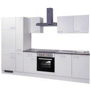 Küchenblock Lucca 310cm Weiß - Weiß, KONVENTIONELL, Holzwerkstoff (310/60cm)