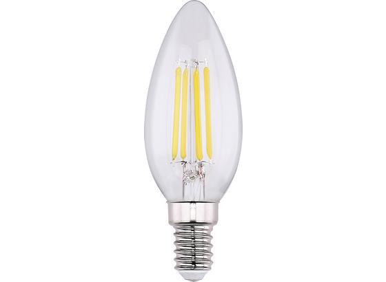 Led Žiarovka 3ks/bal. 10588-3, E14, 4 Watt - číre, sklo (3,5/9,8cm) - Modern Living