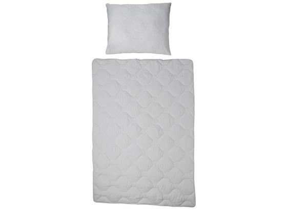 Mikrofaser Bettenset 2-teilig - Weiß, KONVENTIONELL, Textil