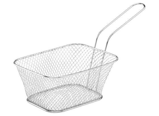 Fritovací Košík Jason - chrómová, Moderný, kov (14/11/7cm)