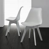 Stolička Vega - biela, Moderný, umelá hmota (46/83/54cm) - Modern Living