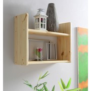 Wandregal Mona B: 60 cm Kieferfarben - Kieferfarben, Basics, Holz (60/45/20cm) - MID.YOU