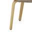 Stolička S Podrúčkami Nadia - hnedá/svetlosivá, Moderný, drevo/textil (66,5/91/47cm) - Modern Living